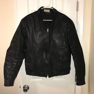 Genuine Black Leather Jacket!